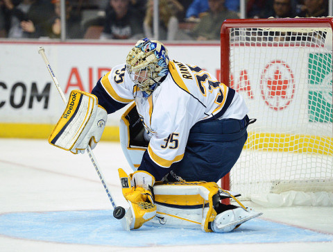 NHL - Pekka Rinne, Nashville Predators (Kelvin Kuo - USA TODAY Sports)