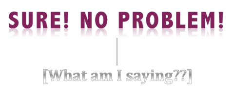 Sure, no problem