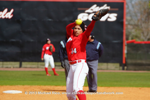 Austin Peay State University softball drops doubleheader to Lipscomb University