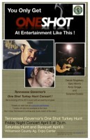 Country music concert featuring Daryle Singletary and Gary Morris