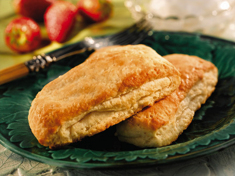 Delicate rich Buttery Layered Shortcake is a cross cultural union of puff pastry and down home Southern biscuits.