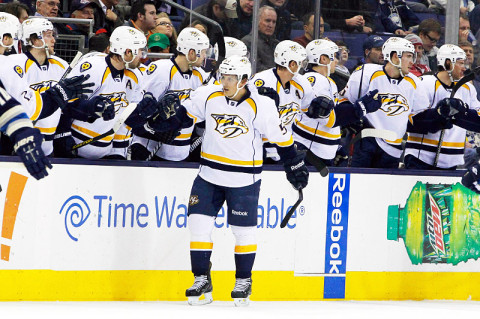 Nashville Predators Hockey. (Russell LaBounty - USA TODAY Sports)