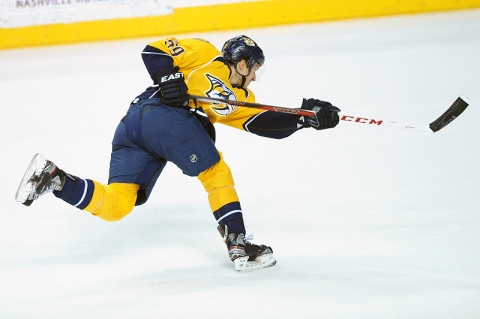 Nashville Predators defenseman Roman Josi (59). (Randy Sartin - USA TODAY Sports)