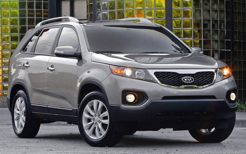 2011 Kia Sorento is one of the vehicles being recalled.