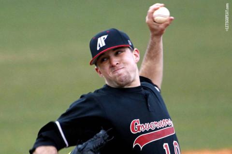 APSU Baseball's Zach Hall. (Courtesy: APSU Sports Information)