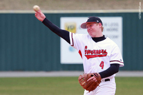 Austin Peay Baseball's Jordan Hankins. (Courtesy: Brittney Sparn/APSU Sports Information)