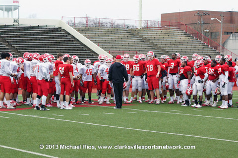 Austin Peay Governors Football.