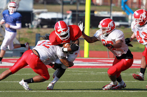 Austin Peay Football. (Courtesy: Brittney Sparn/APSU Sports Information)