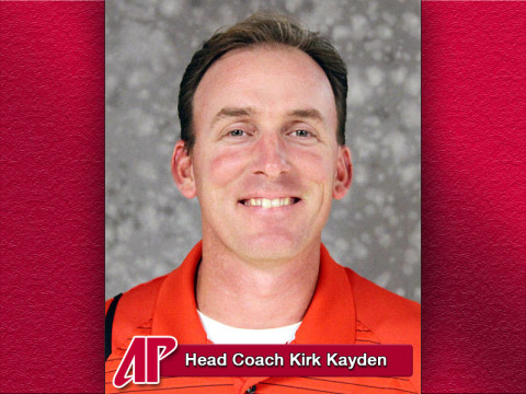 APSU Golf Head Coach Kirk Kayden.