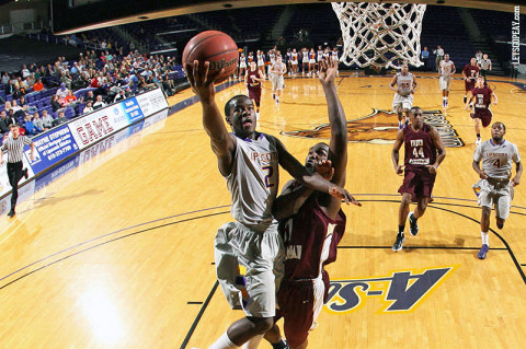 APSU Basketball's Zavion Williams. (Courtesy: Austin Peay Sports Information)