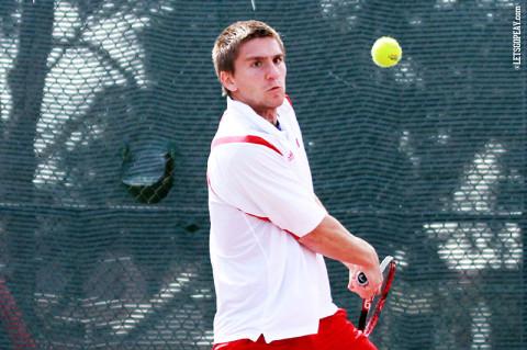 Austin Peay Men's Tennis. (Courtesy: Brittney Sparn/APSU Sports Information)