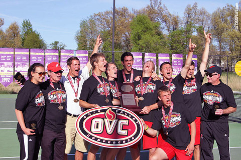 Austin Peay Men's Tennis, OVC Champions. (Courtesy: Austin Peay Sports Information)