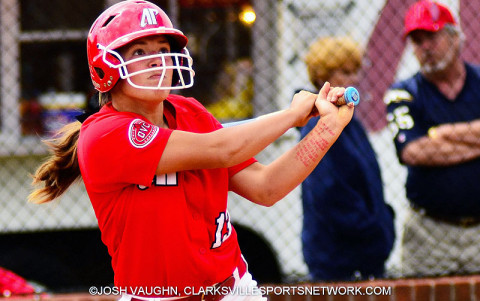Austin Peay Lady Govs Softball's Shelby Norton.