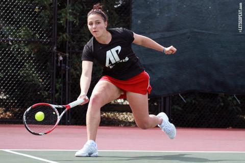 Austin Peay Women's Tennis. (Courtesy: Brittney Sparn/APSU Sports Information)