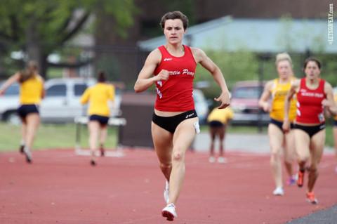APSU Lady Govs Track and Fields Chantelle Grey. (Courtesy: Brittney Sparn/APSU Sports Information)