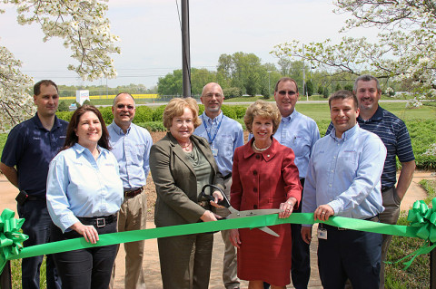 Akebono Green Certification Ribbon Cutting.