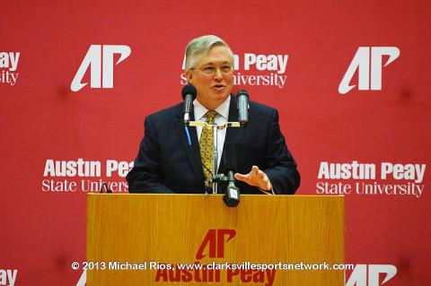 APSU President Tim Hall.