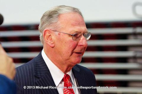 APSU Men's Basketball Coach Dave Loos.