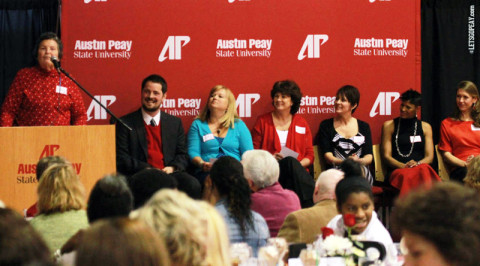 APSU Celebrates Women's Athletics. (Courtesy: Brittney Sparn/APSU Sports Information)