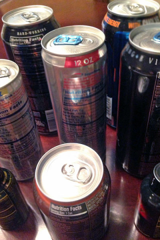 Energy Drinks. (Copyright American Heart Association)