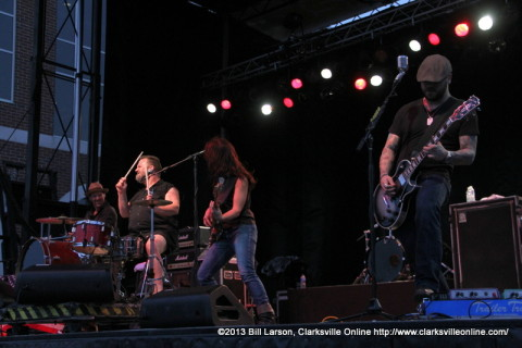 Cowboy Mouth at the 2013 Rivers and Spires Festival