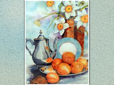 Leah Foote watercolor artwork.