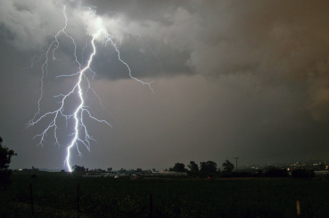 Tennessee is 12th on the List of Lightning Insurance Claims, Kentucky is 21st. (NOAA)