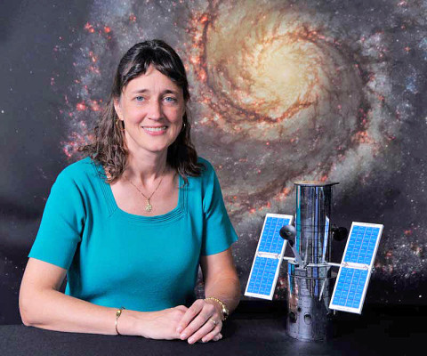 Jennifer Wiseman is a senior astrophysicist at the NASA Goddard Space Flight Center, where she serves as the Senior Project Scientist for the Hubble Space Telescope. (Credit: NASA)