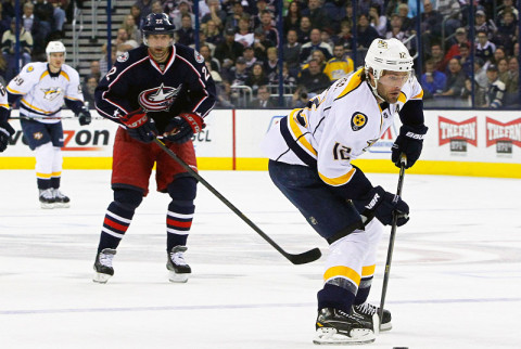 Nashville Predators vs. Columbus Blue Jackets.  (Russel LeBounty - USA Today)