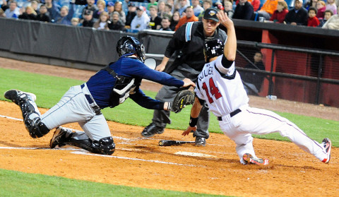 Nashville Sounds (Photo by Michael Strasinger - SportsNashville.net)