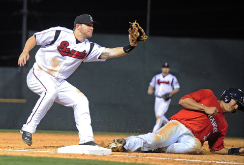 Nashville Sounds Baseball. (Mike Strasinger - sportsnashville.net)