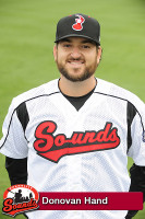 Nashville Sounds - Donovan Hand