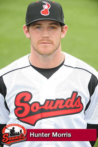 Nashville Sounds - Hunter Morris