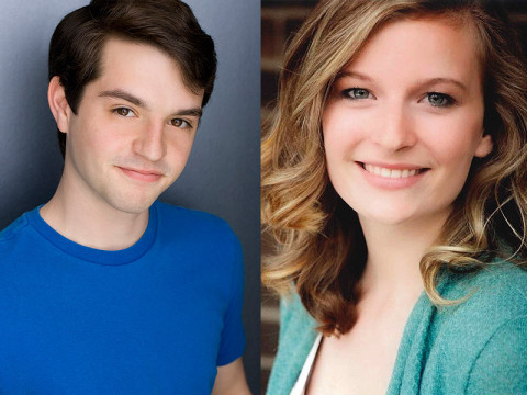 """Peter Pan"" stars Richie Sklar as Peter Pan and Hannah Church as Wendy Darling."