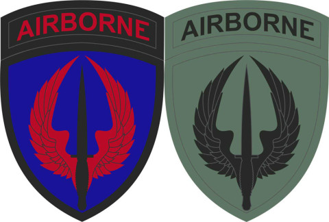 The shoulder sleeve insignia which all Soldiers assigned to USASOAC will wear.