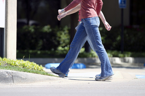The more people walked or ran each week, the more their health benefits increased. (American Heart Association)