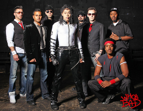 Who's Bad, a Michael Jackson tribute band headlines tonight's Rivers and Spires Festival. (Photo By Curtis Brown Photography)