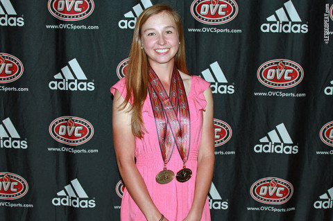 Austin Peay Freshman Jessica Cathey. APSU Women's Golf. (Courtesy: Austin Peay Sports Information)