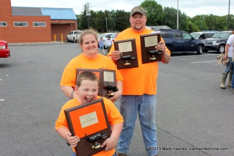 Double A's BBQ won Grand Champion at the 2013 Hilltop BBQ Cook-Off.