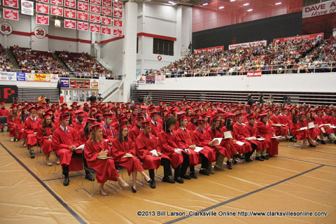 2013 Montgomery Central High School Graduation