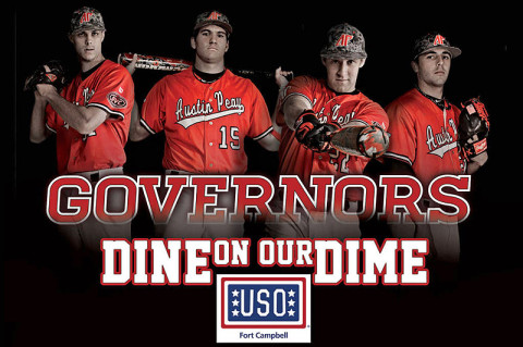 """Dine on our Dime"" this Sunday at APSU baseball game"