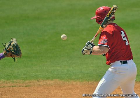 Austin Peay Baseball's Jordan Hankins.