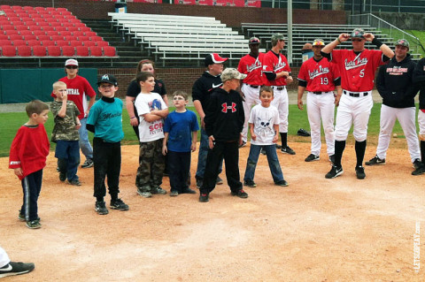 Austin Peay Baseball Skills Clinic was held Sunday. (Courtesy: Austin Peay Sports Information)