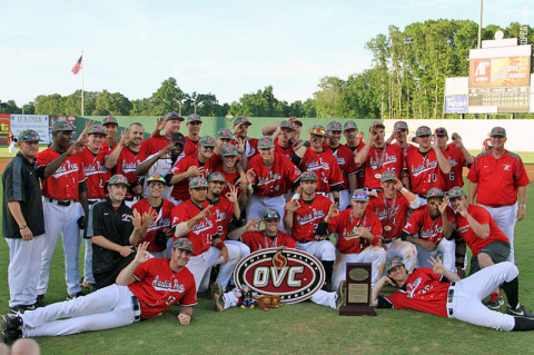 Austin Peay won its sixth OVC Tournament Championship this year. APSU Baseball. (Courtesy: Austin Peay Sports Information)