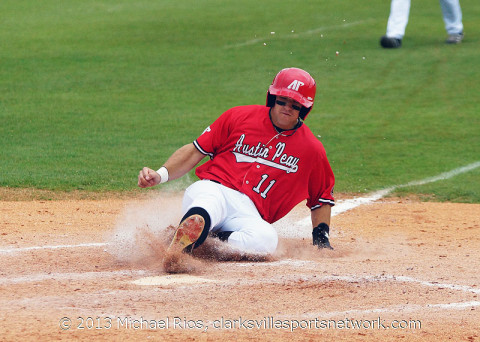 APSU Baseball. (Michael Rios - Clarksville Sports Network)
