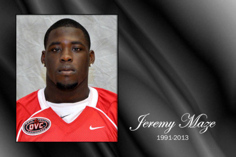 Austin Peay's Jeremy Maze. (Courtesy: Austin Peay Sports Information)