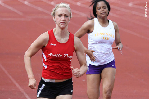 Austin Peay Lady Govs Track and Field. (Courtesy: Brittney Sparn/APSU Sports Information)