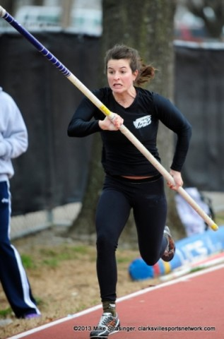 APSU's Molly Basch, Austin Peay Track and Field. (Michael Strasinger - SportsNashville.net)