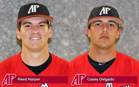 APSU's Reed Harper and Casey Delgado