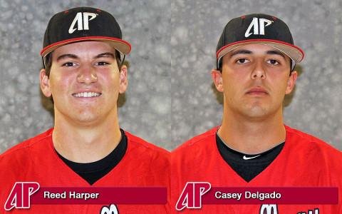 APSU's Reed Harper and Casey Delgado